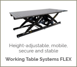 Working Table Systems – FLEX