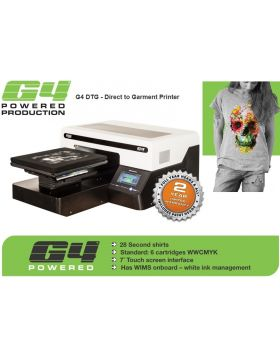 G4 DTG - Direct to Garment Printer