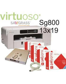 Sawgrass Virtuoso SG800 (A3) Sublimation Printer with Gel ink Cartridge Set